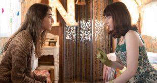 Simona Tabasco e Lia Grieco, protagoniste di Luna Park su Netflix. Foto dal Web