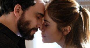 Simone Liberati e Greta Scarano in Chiamami ancora amore. Foto di Fabrizio de Blasio