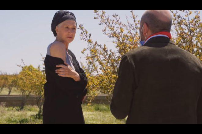 Helen Mirren in La Vacinada