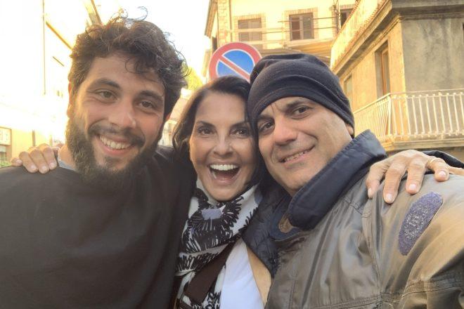 Salvatore Romano, Nina Soldano e Giuseppe Marvaso