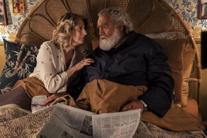 Angela Finocchiaro e Diego Abatantuono in Il Mammone. Foto di Riccardo Ghilardi