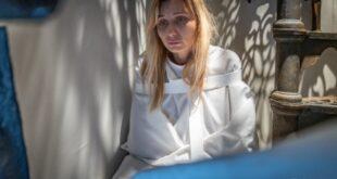 Anna Ferzetti in Stop. Foto di Chiara Calabrò