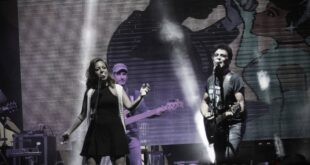 Claudia Megrè live con Eduardo Bennato