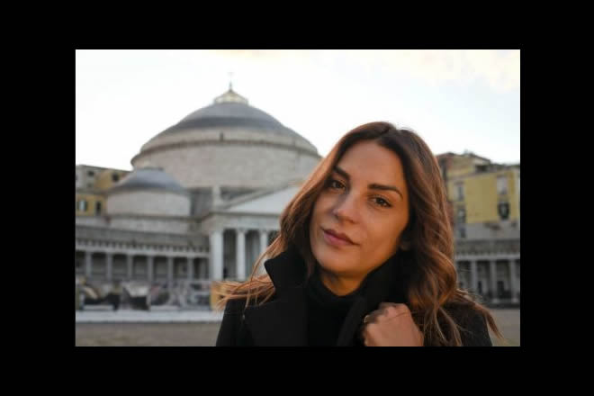 Viola Ardone a Napoli. Foto dal Web. Tutti i diritti riservati ai leggittimi proprietari