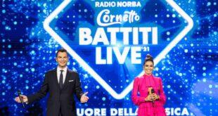 Alan Palmieri ed Elisabetta Gregoraci per Battiti Live. Foto di Francesco Liuzzi