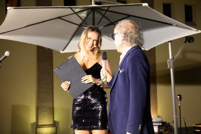 Eva Henger con Valentino Cirulli di Castelnoha