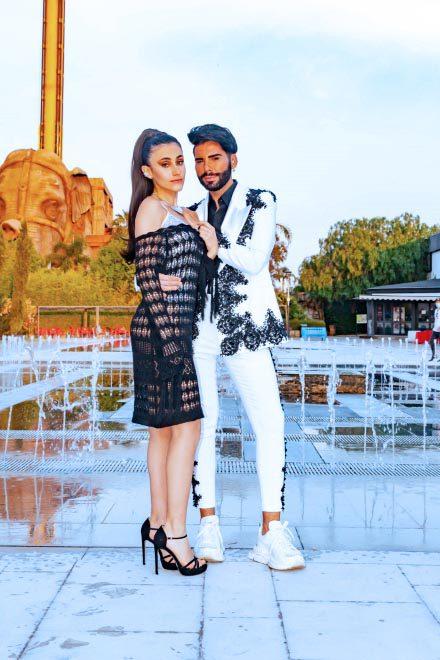 Federico Fashion Style con Michelle. Foto di Giacomo Prestigiacomo