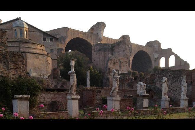 La Casa delle Vestali al Foro Romano. Foto del Parco Archeologico del Colosseo
